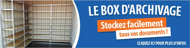 Box d'archivage à Rennes