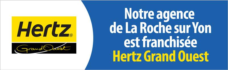 Agence franchisée Hertz Grand Ouest